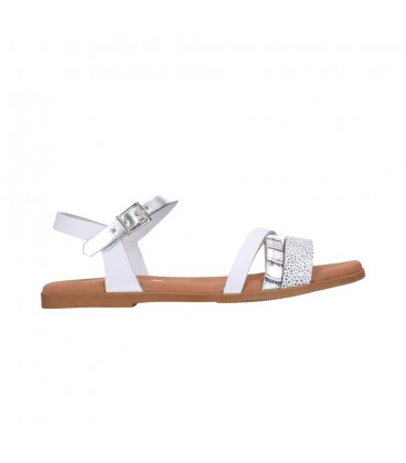 OH MY SANDALS 4646 BLANCO COMBI Mujer Blanco